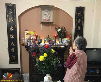 Phong Thủy bàn thờ, nên và không nên